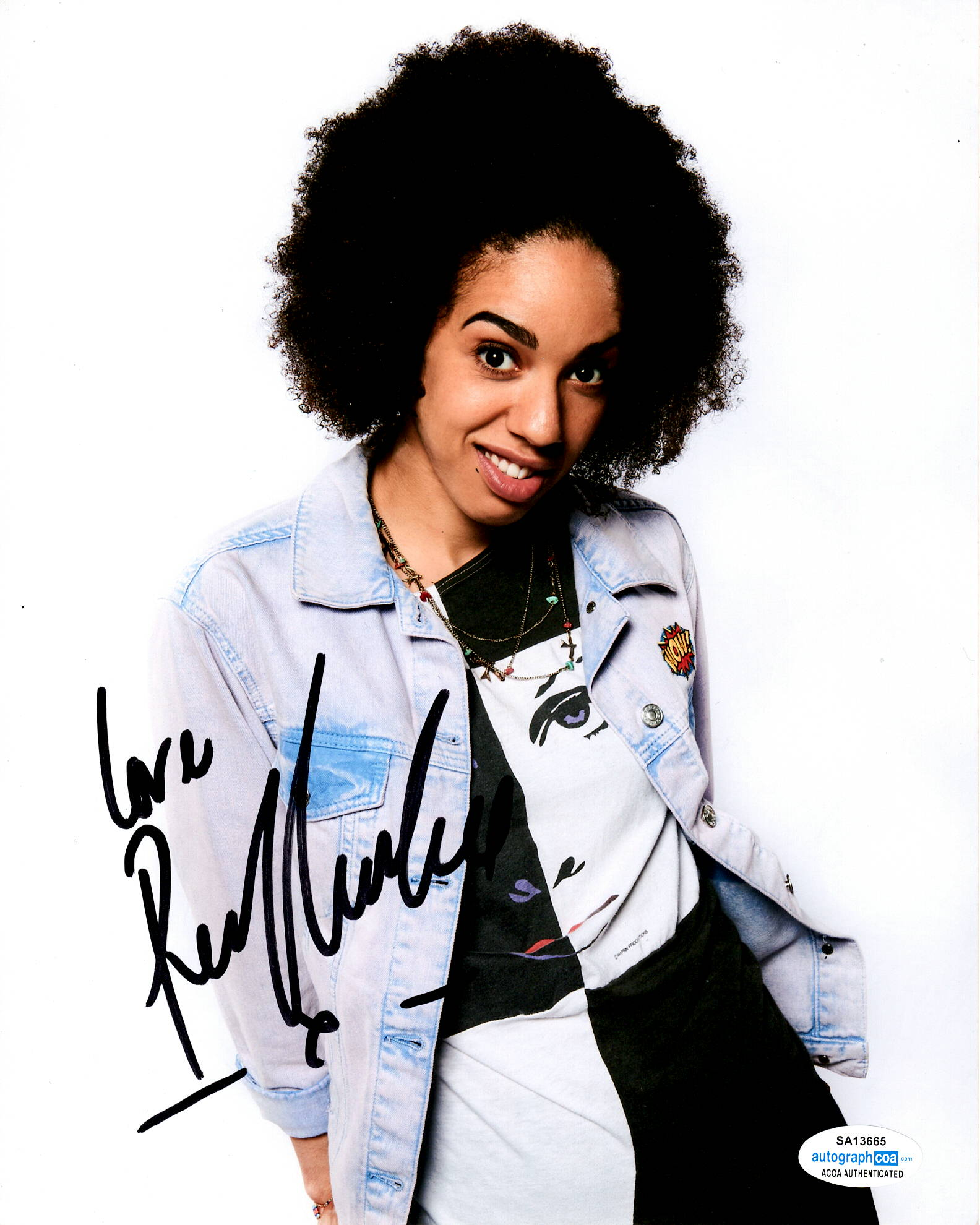 Pearl Mackie Doctor Who Signed Autograph 8x10 Photo #5