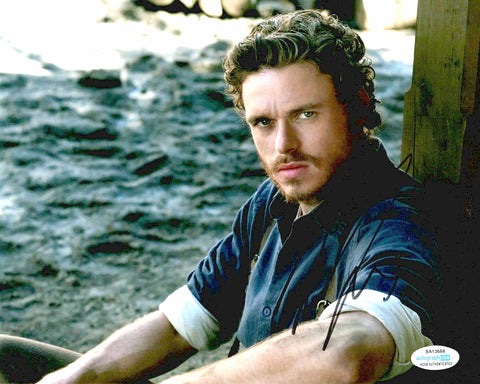 Richard Madden Game of Thrones Signed Autograph 8x10 Photo #6 - Outlaw Hobbies Authentic Autographs