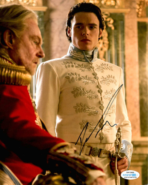 Richard Madden Cinderella Signed Autograph 8x10 Photo #3