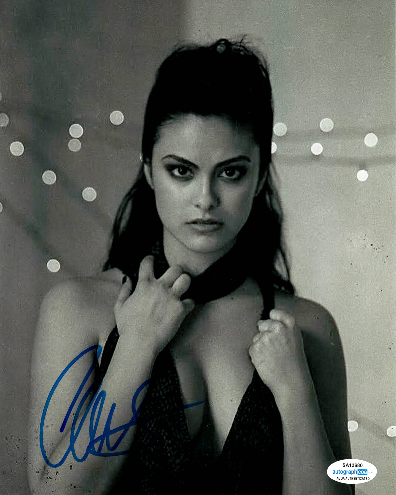 Camila Mendes Riverdale Signed Autograph 8x10 Photo ACOA #18 - Outlaw Hobbies Authentic Autographs
