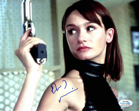 Emily Mortimer Sexy Signed Autograph 8x10 Photo