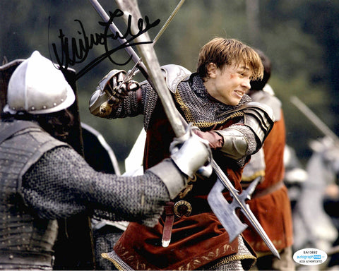 William Moseley Chronicles of Narnia Signed Autograph 8x10 Photo #3 - Outlaw Hobbies Authentic Autographs