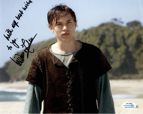 William Moseley Chronicles of Narnia Signed Autograph 8x10 Photo #6 - Outlaw Hobbies Authentic Autographs