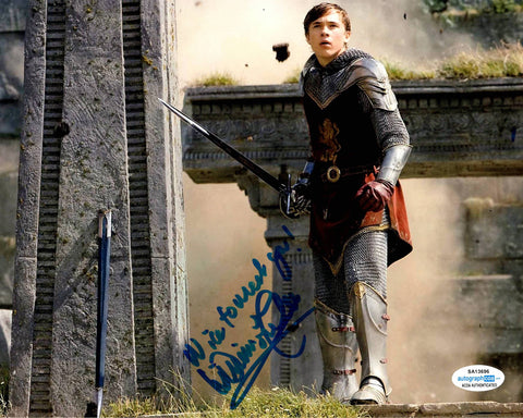 William Moseley Chronicles of Narnia Signed Autograph 8x10 Photo #7 - Outlaw Hobbies Authentic Autographs