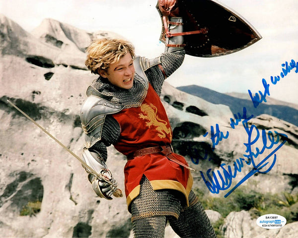 William Moseley Chronicles of Narnia Signed Autograph 8x10 Photo #8 - Outlaw Hobbies Authentic Autographs