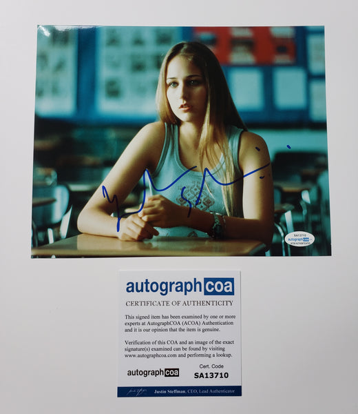 Leelee Sobieski Sexy Signed Autograph 8x10 Photo - Outlaw Hobbies Authentic Autographs