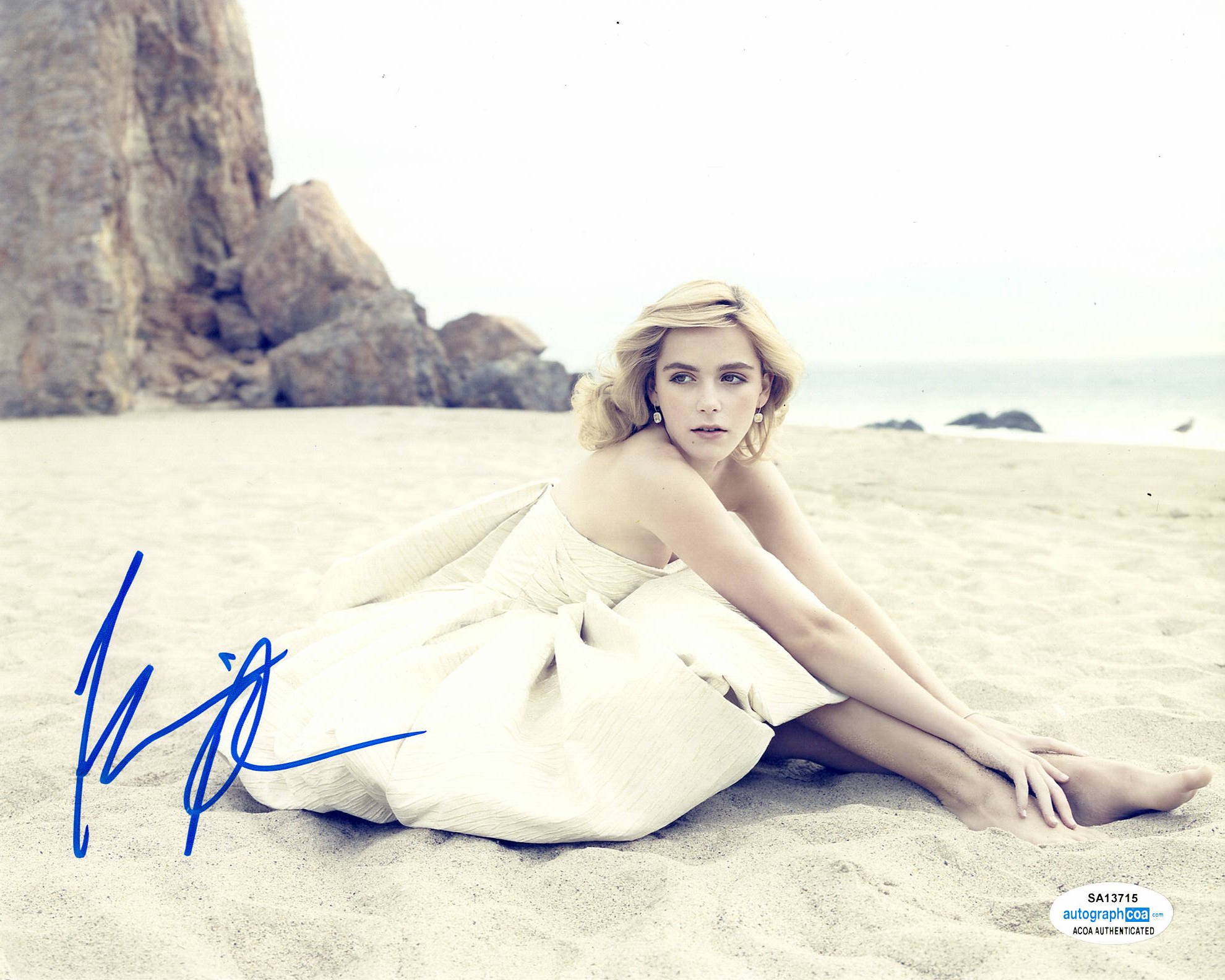 Kiernan Shipka CAOS Sabrina Signed Autograph 8x10 Photo #13 - Outlaw Hobbies Authentic Autographs