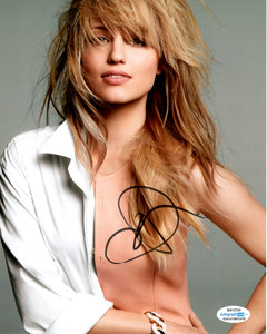 Dianna Agron Sexy Signed Autograph 8x10 Photo - Outlaw Hobbies Authentic Autographs