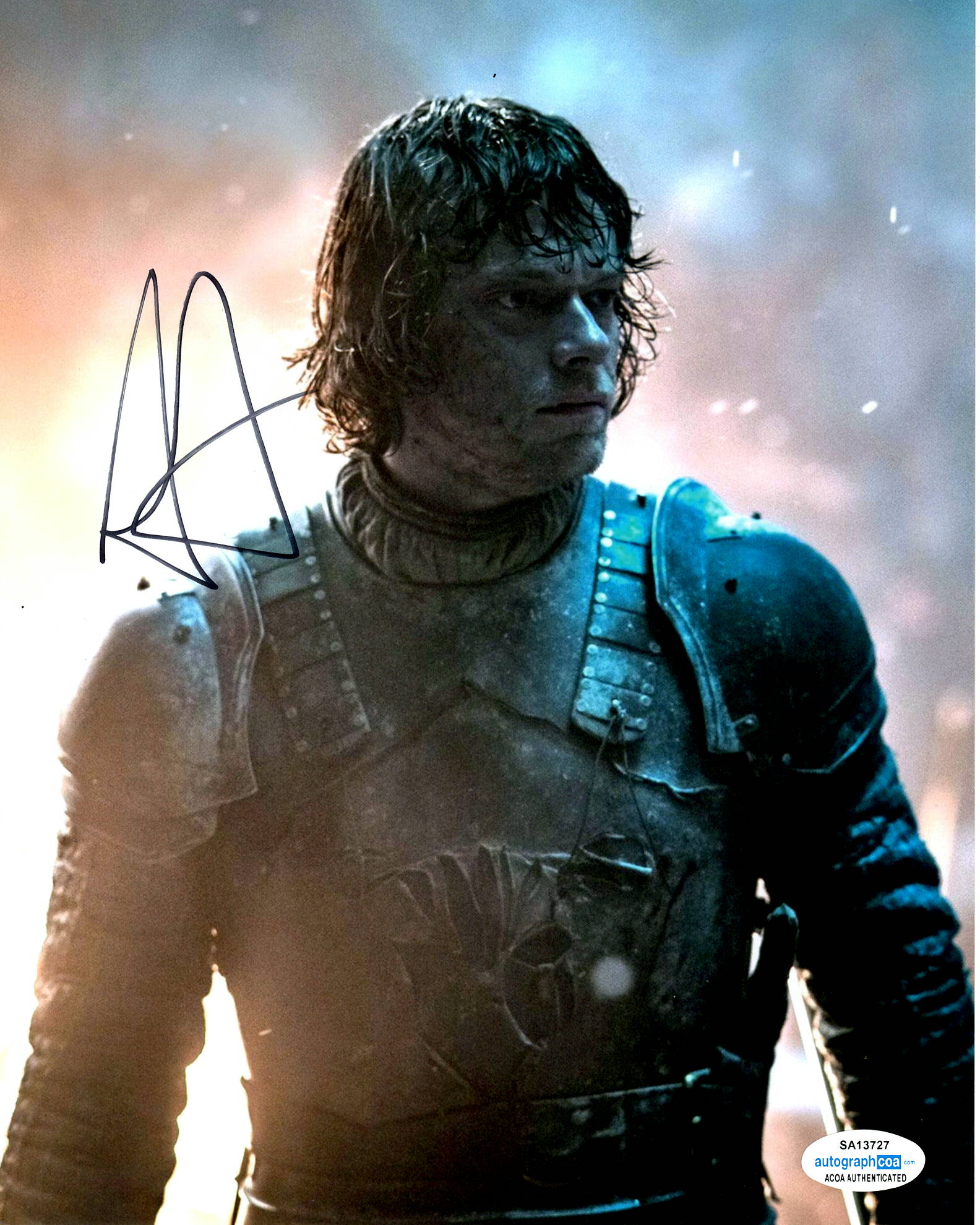 Alfie Allen Game of Thrones Signed Autograph 8x10 Photo #2 - Outlaw Hobbies Authentic Autographs