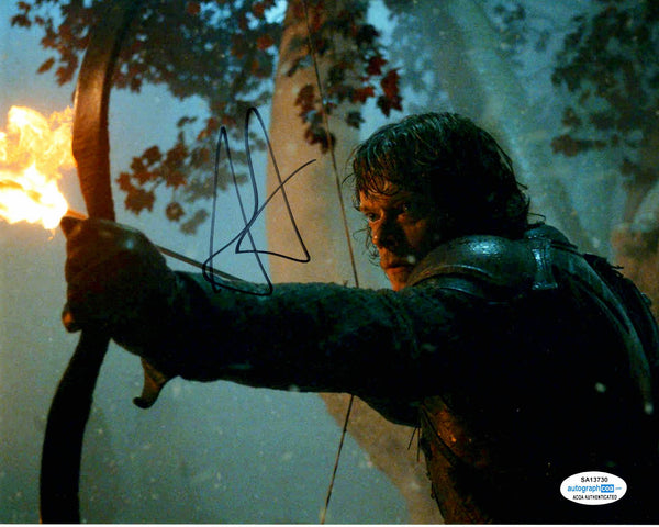Alfie Allen Game of Thrones Signed Autograph 8x10 Photo #5 - Outlaw Hobbies Authentic Autographs