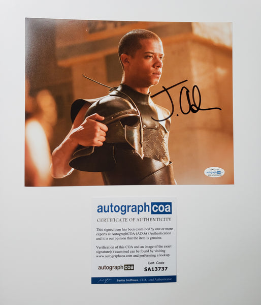 Jacob Anderson Game of Thrones Signed Autograph 8x10 Photo ACOA - Outlaw Hobbies Authentic Autographs