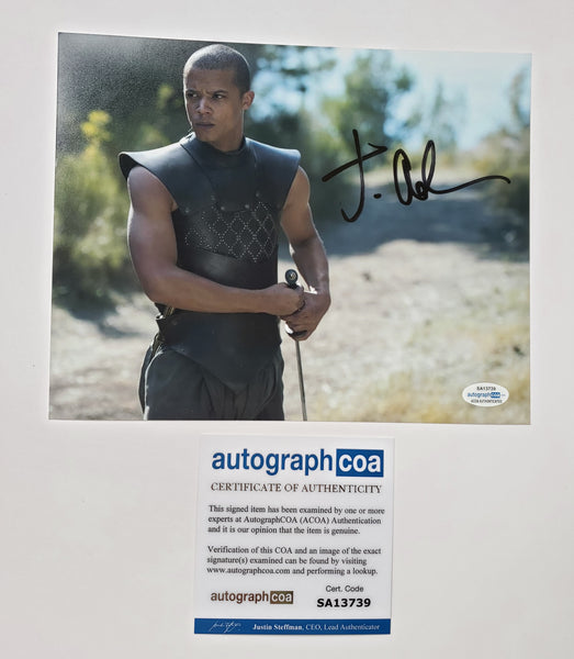 Jacob Anderson Game of Thrones Signed Autograph 8x10 Photo ACOA #3 - Outlaw Hobbies Authentic Autographs