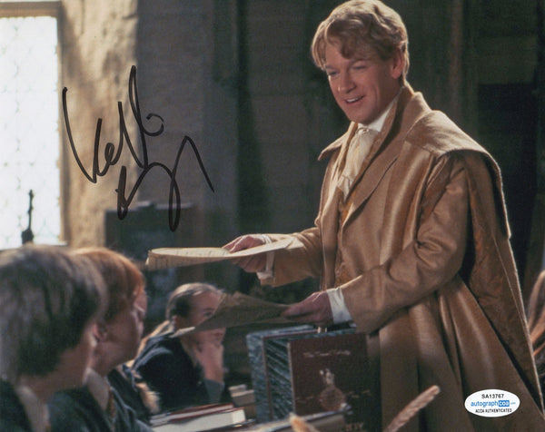 Kenneth Branagh Harry Potter Signed Autograph 8x10 Photo ACOA - Outlaw Hobbies Authentic Autographs