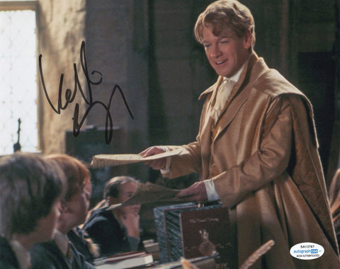 Kenneth Branagh Harry Potter Signed Autograph 8x10 Photo ACOA