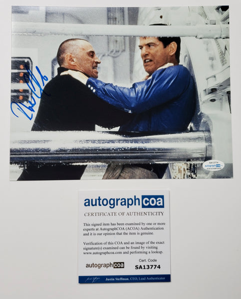 Robert Carlyle Bond Signed Autograph 8x10 Photo ACOA #3 - Outlaw Hobbies Authentic Autographs