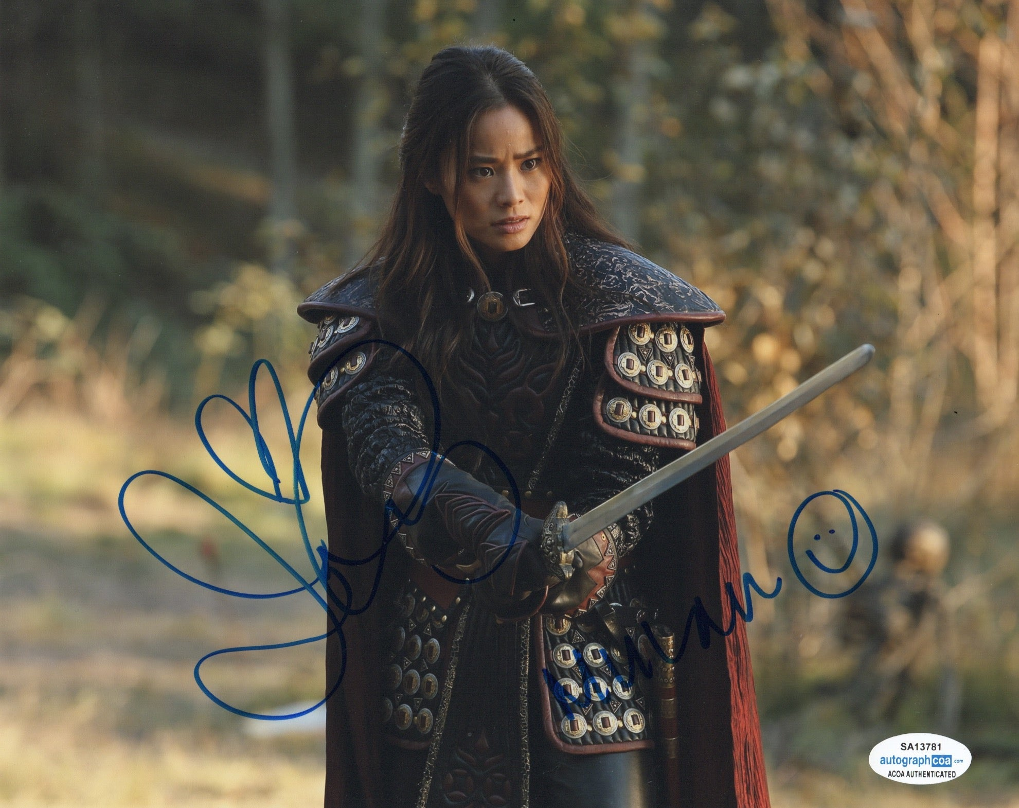 Jamie Chung Once Upon A Time Signed Autograph 8x10 Photo ACOA #5 - Outlaw Hobbies Authentic Autographs