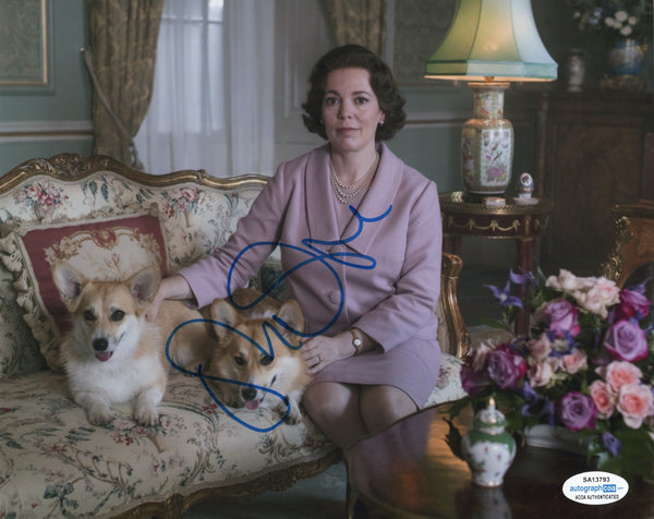 Olivia Colman The Crown Signed Autograph 8x10 Photo ACOA #3 - Outlaw Hobbies Authentic Autographs