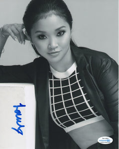 Lana Condor To All The Boys Signed Autograph 8x10 Photo ACOA #2 - Outlaw Hobbies Authentic Autographs