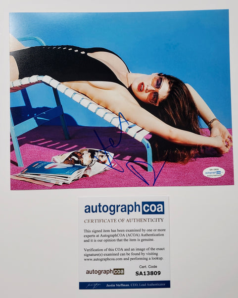 Alexandra Daddario Sexy Signed Autograph 8x10 Photo