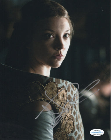 Natalie Dormer Game of Thrones ACOA Signed Autograph 8x10 Photo #3