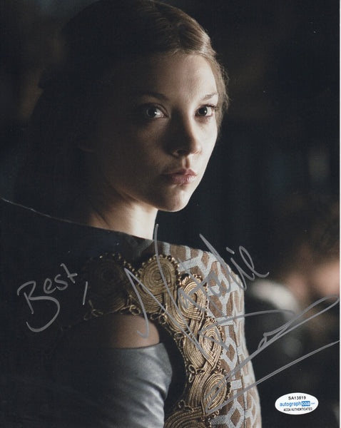 Natalie Dormer Game of Thrones ACOA Signed Autograph 8x10 Photo #5 - Outlaw Hobbies Authentic Autographs