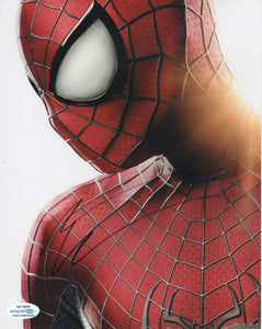 Andrew Garfield Spiderman Signed Autograph 8x10 Photo ACOA - Outlaw Hobbies Authentic Autographs