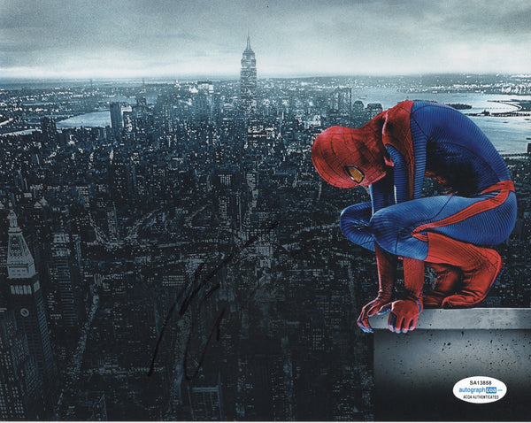 Andrew Garfield Spiderman Signed Autograph 8x10 Photo ACOA #3