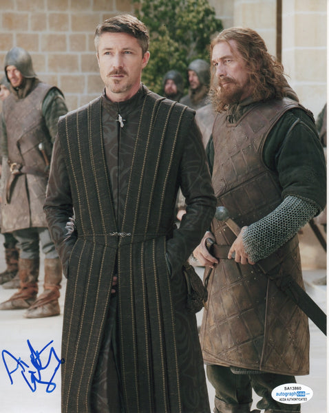 Aidan Gillen Game of Thrones Signed Autograph 8x10 Photo ACOA #7 - Outlaw Hobbies Authentic Autographs