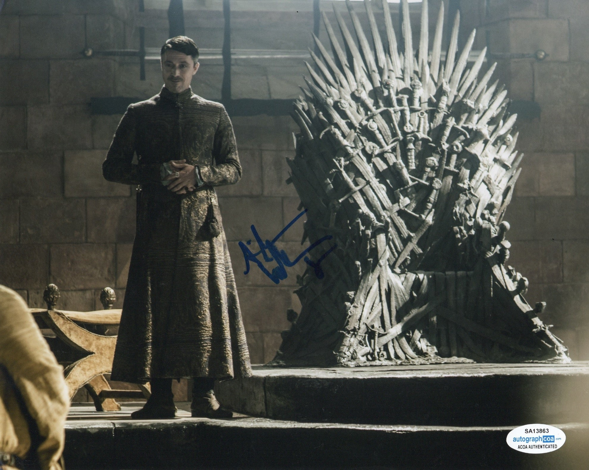 Aidan Gillen Game of Thrones Signed Autograph 8x10 Photo ACOA #10 - Outlaw Hobbies Authentic Autographs