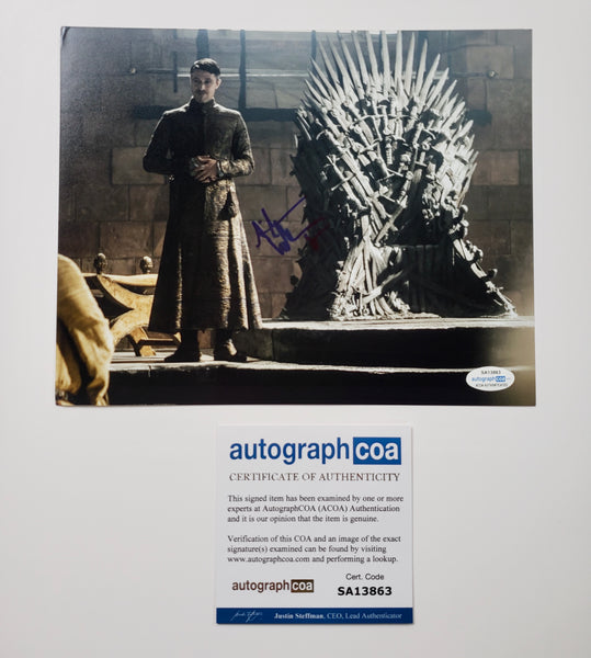 Aidan Gillen Game of Thrones Signed Autograph 8x10 Photo ACOA #10
