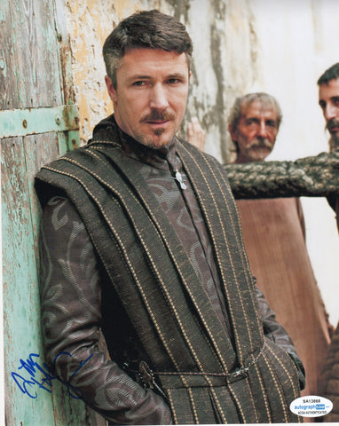 Aidan Gillen Game of Thrones Signed Autograph 8x10 Photo ACOA #15 - Outlaw Hobbies Authentic Autographs