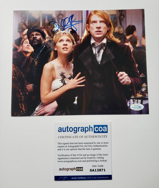 Domhnall Gleeson Harry Potter Signed Autograph 8x10 Photo ACOA - Outlaw Hobbies Authentic Autographs