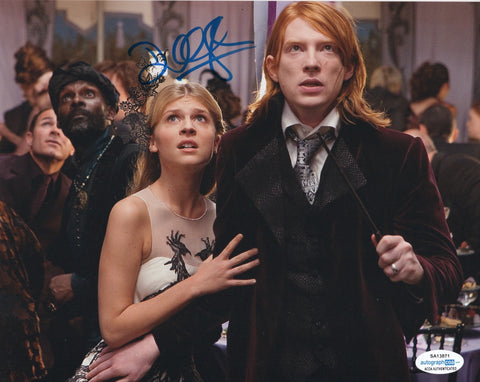 Domhnall Gleeson Harry Potter Signed Autograph 8x10 Photo ACOA