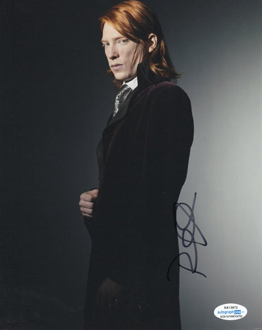 Domhnall Gleeson Harry Potter Signed Autograph 8x10 Photo ACOA #2 - Outlaw Hobbies Authentic Autographs