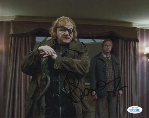 Brendan Gleeson Harry Potter Signed Autograph 8x10 ACOA Photo