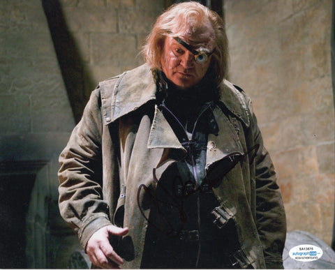 Brendan Gleeson Harry Potter Signed Autograph 8x10 ACOA Photo #2