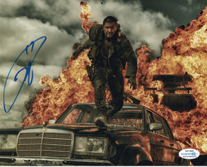 Tom Hardy Mad Max Signed Autograph 8x10 Photo ACOA #2 - Outlaw Hobbies Authentic Autographs