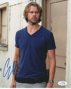 Eric Christian Olsen NCIS SIgned Autograph 8x10 ACOA #2 - Outlaw Hobbies Authentic Autographs