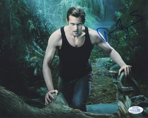 Alexander Alex Skarsgard True Blood Signed Autograph 8x10 Photo ACOA - Outlaw Hobbies Authentic Autographs