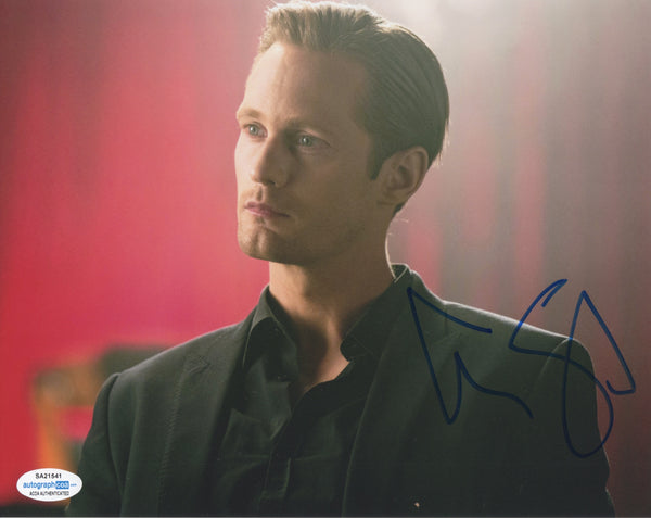 Alexander Alex Skarsgard True Blood Signed Autograph 8x10 Photo ACOA #3 - Outlaw Hobbies Authentic Autographs