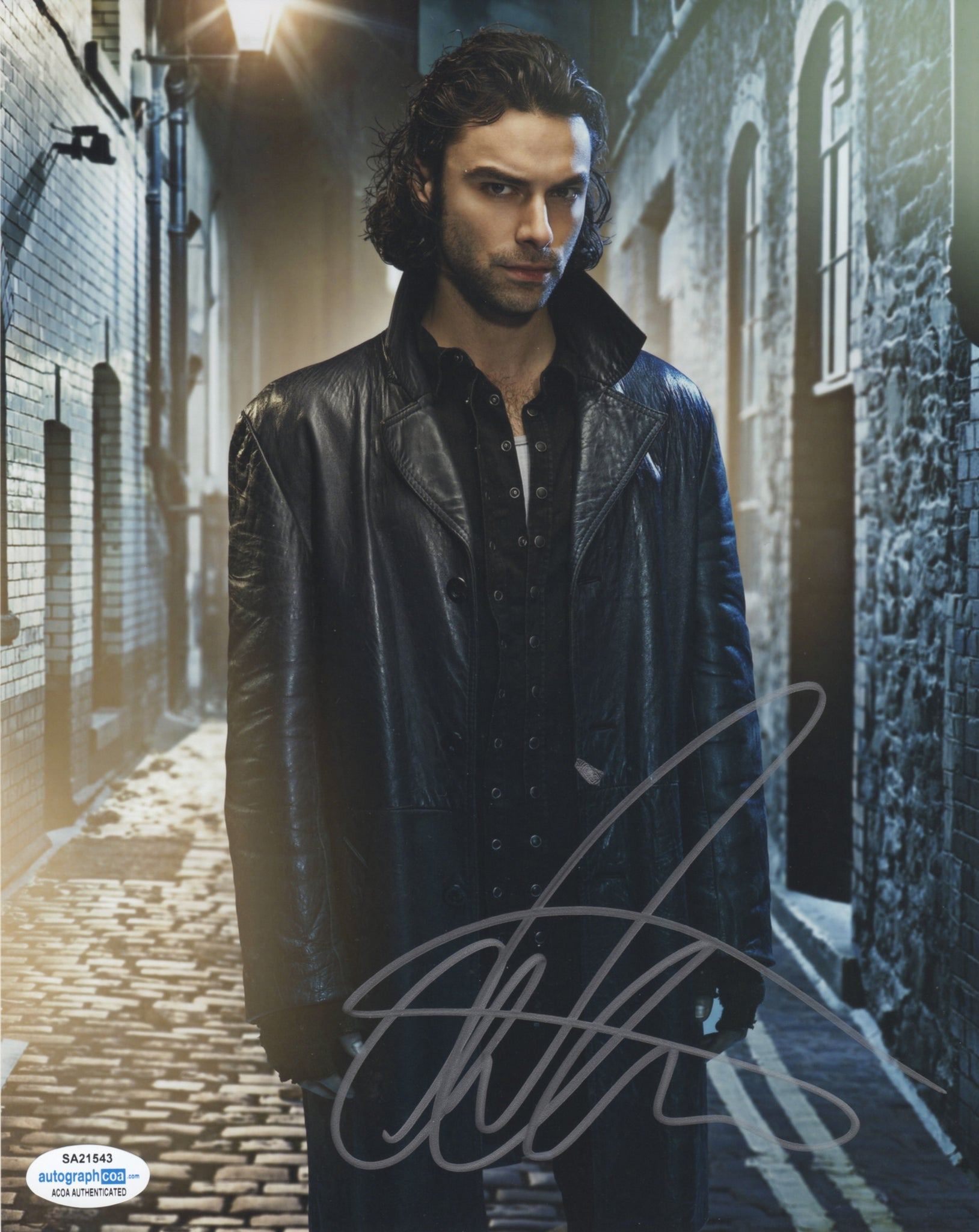 Aidan Turner Being Human Signed Autograph 8x10 Photo ACOA #3 - Outlaw Hobbies Authentic Autographs