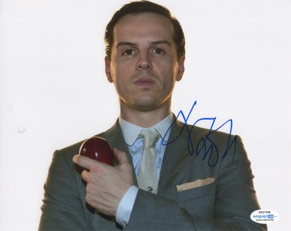 Andrew Scott Sherlock Signed Autograph 8x10 ACOA #3 - Outlaw Hobbies Authentic Autographs