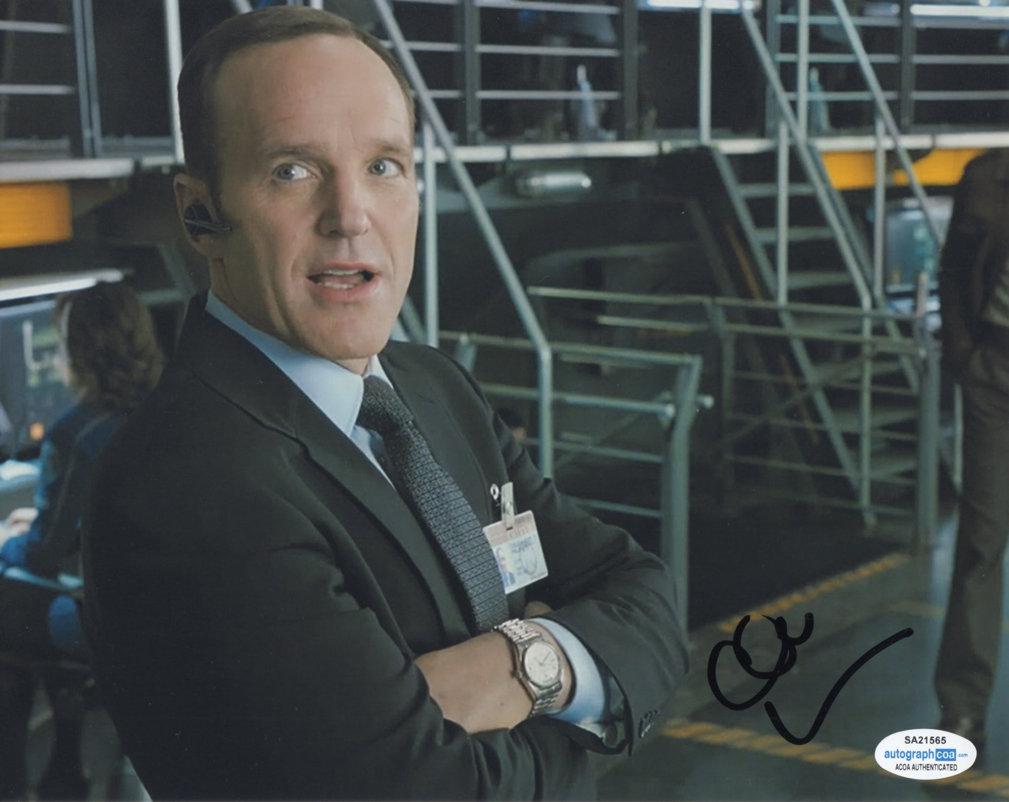 Clark Gregg Agents of Shield Signed Autograph 8x10 Photo ACOA #2 - Outlaw Hobbies Authentic Autographs