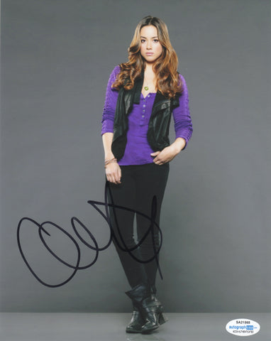 Chloe Bennet Agents of Shield Signed Autograph 8x10 Photo ACOA #3