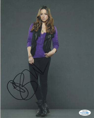 Chloe Bennet Agents of Shield Signed Autograph 8x10 Photo ACOA #5