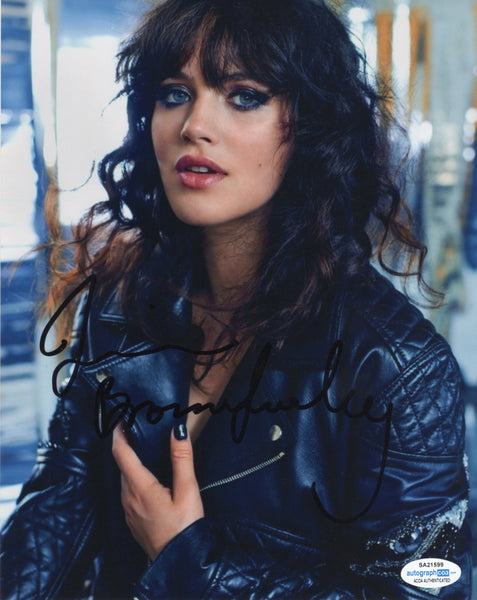 Jessica Brown Findlay Sexy Signed Autograph 8x10 Photo ACOA  #13 - Outlaw Hobbies Authentic Autographs