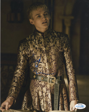 Jack Gleeson Game of Thrones Signed Autograph 8x10 Photo ACOA #2