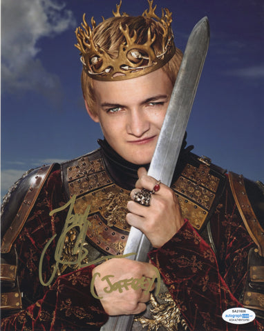 Jack Gleeson Game of Thrones Signed Autograph 8x10 Photo ACOA #4