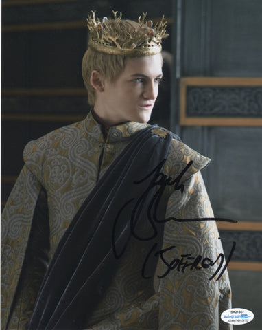 Jack Gleeson Game of Thrones Signed Autograph 8x10 Photo ACOA #5