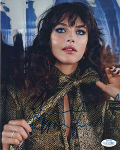 Jessica Brown Findlay Sexy Signed Autograph 8x10 Photo ACOA  #15